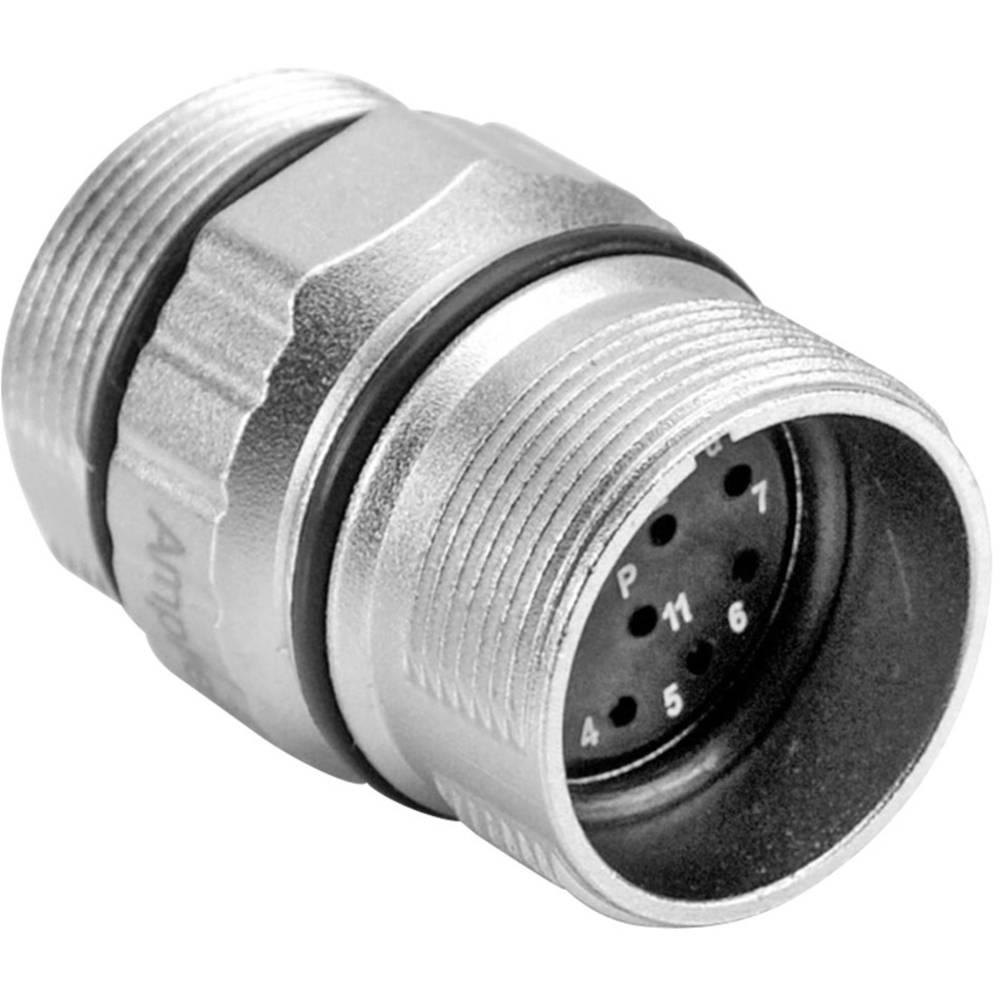 Povezovalni kos M23A (vtični kontakti) poli: 16 10 A MA1JAP1600 Amphenol 1 kos