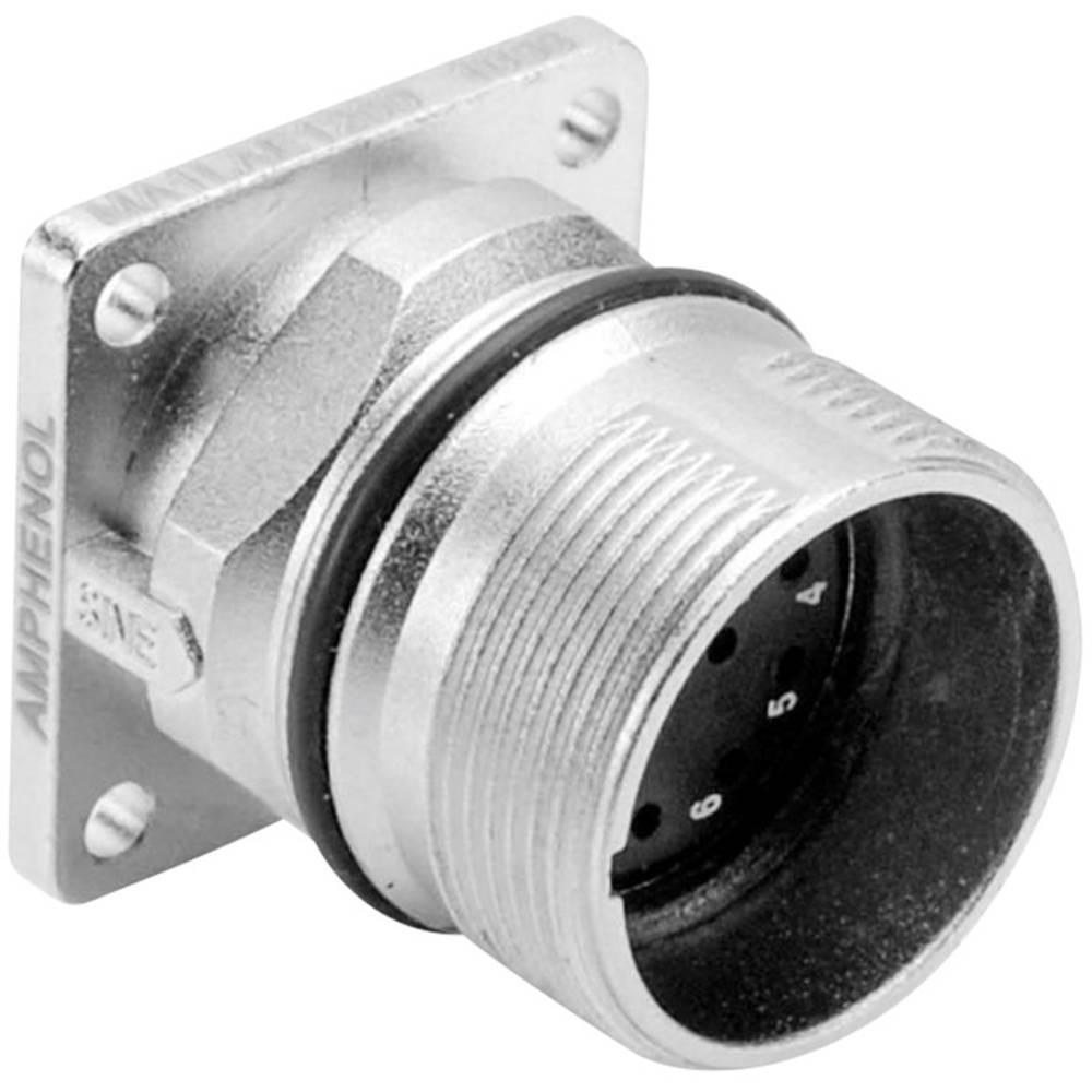 Vtič za naprave s pravokotno prirobnico, M23A (vtični kontakti) poli: 17 10 A MA1LAE1700 Amphenol 1 kos
