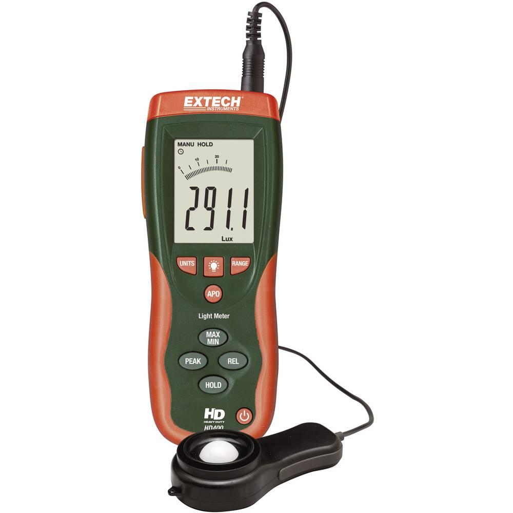 Extech HD-400 Luksmeter, merilnik svetilnosti, merilnik osvetlitve 400 po 400.000 lx HD400