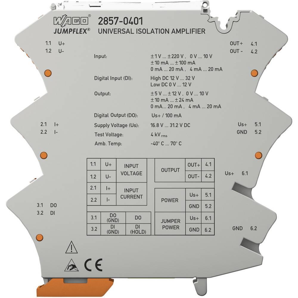 Univerzalni razdelilni ojačevalnik JUMPFLEX® WAGO 2857-401 2857-401 1 kos