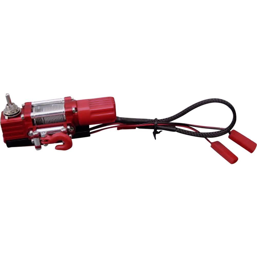 Aluminijast vitel Amewi, rdeča, oprema za modele Crawler, 010-20047