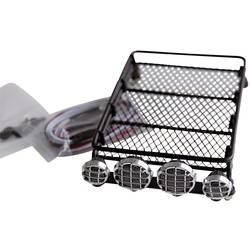 Strešni prtljažnik s 4 LED-žarometi Amewi, črna, 010-20412