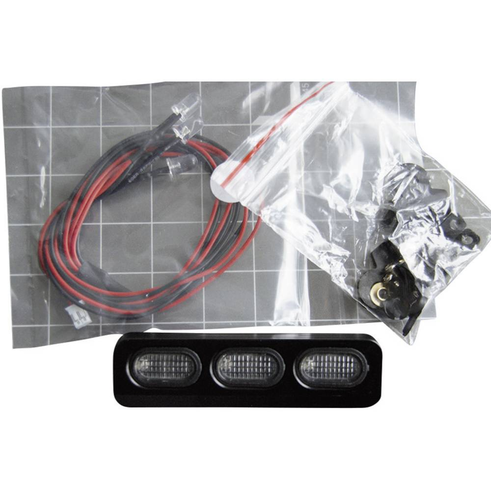 Strešni žarometi Amewi, 3 x LED, črna, 010-20512