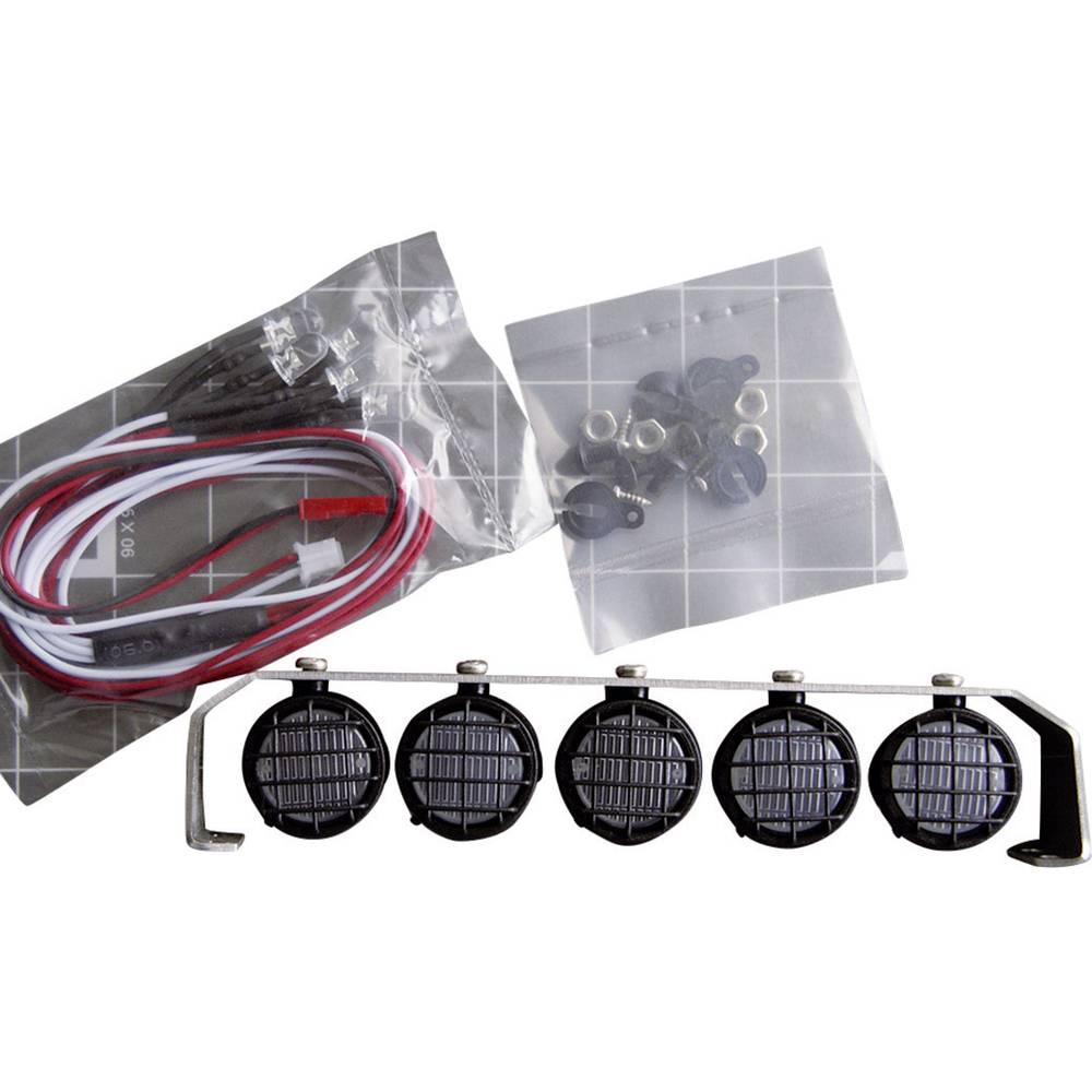 Strešni žarometi Amewi, 5 x LED, črna/srebrna, 010-20528