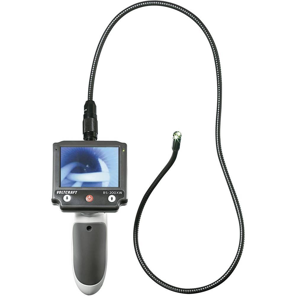Endoskop VOLTCRAFT BS-200XW promjer sonde: 9.8 mm duljina sonde: 88 cm fokusiranje, opcionalna produljenja, odvojivi ekran, TV i