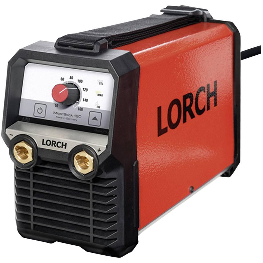 Lorch varilna naprava MicorStick 160 Accu-ready 111.1620.0 obratovalna napetost 230 V/50 Hz premer elektrode 1,0 - 4,0 mm