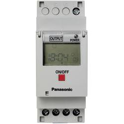 Časovna stikalna ura za DIN letev, delovna napetost: 230 V/AC Panasonic TB6210187 1 x preklopni 16 A 250 V/AC tedenski program