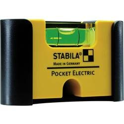 Vaterpas-Mini 7 cm Stabila Pocket Electric 18115 1 mm/m Kalibrering efter: Werksstandard (ohne Zertifikat) (own)
