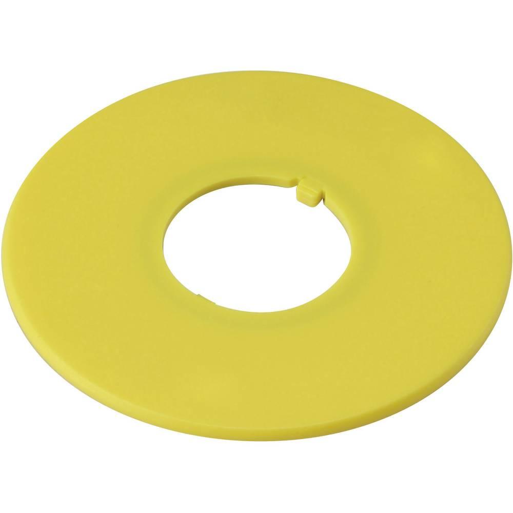 Označevalna tablica brez motiva rumene barve, DECA A2AV-0 1 kos