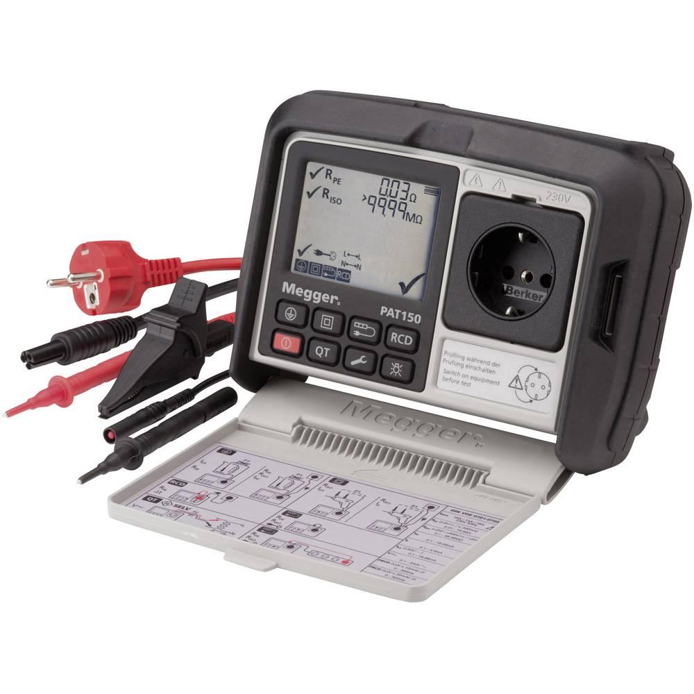 Megger PAT150-DE VDE ispitni uređaj DIN VDE 0701-0702, DGUV propis 3, BGV A3, EN 62638