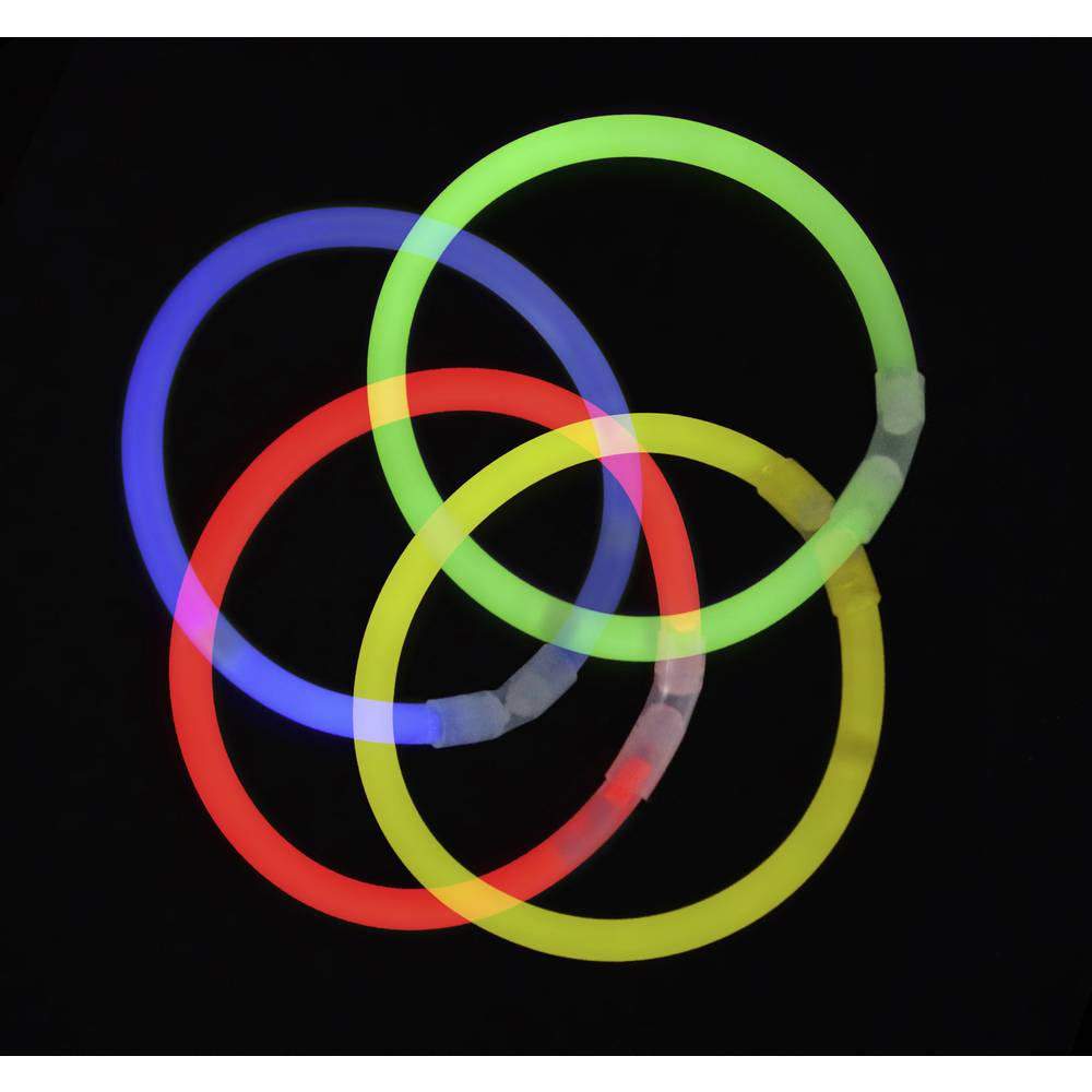 Neonski svjetleći štapići 100 kom. u setu 7-boja Multi-Color