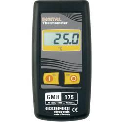 Merilnik temperature Greisinger GMH 175 -199.9 do +199.9 °C vrsta tipala: Pt1000 kalibracija narejena po: delovnih standardih