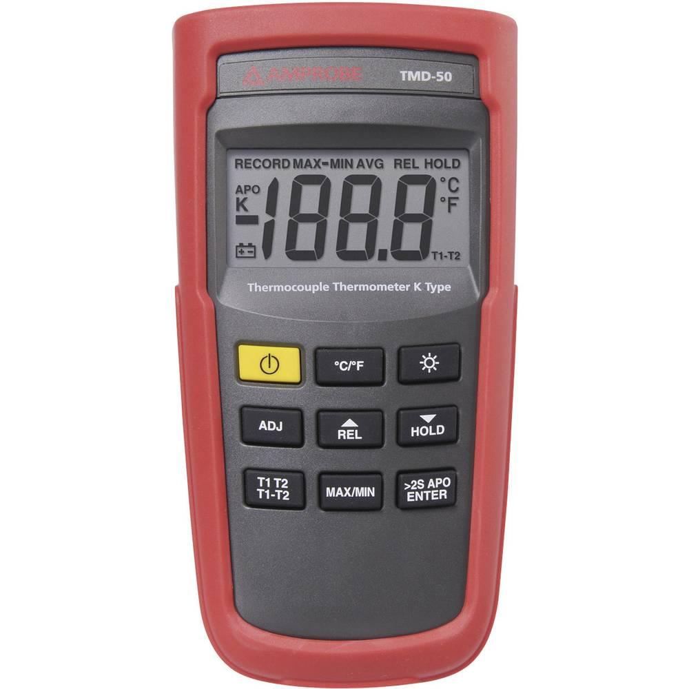 Digitalni termometar Beha Amprobe TMD-50, tip K, mjerilno područje: -180 do 1.350 °C, 0,1 3730150
