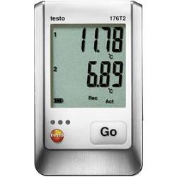 Zapisivač podataka temperature testo 176 T2 mjerno područje temperature -50 do 400 °C kalibrirano prema tvorničkom standardu (be