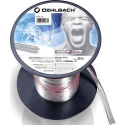 Kabel za zvočnik 2 x 2.5 mm transparentni Oehlbach 187 30 m