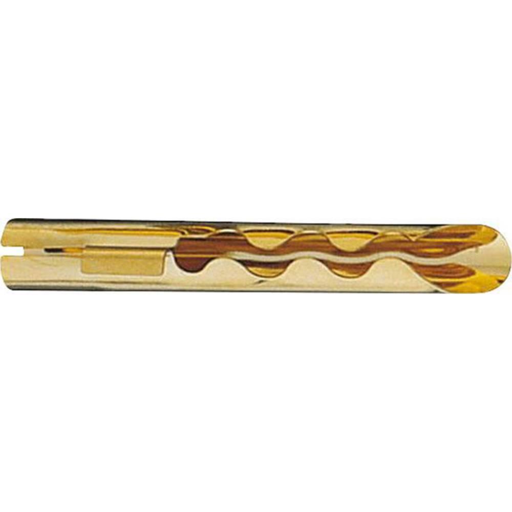 Vtični konektor za zvočnik prek vtiča, raven, Gold Oehlbach 3005 10 kosov