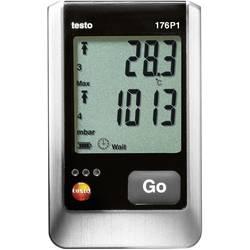Večnamenski zapisovalnik podatkov testo 176 P1 merjenje temperature, za zračni tlak, vlažnosti zraka -40 do 70 °C 0 do 100 % rF