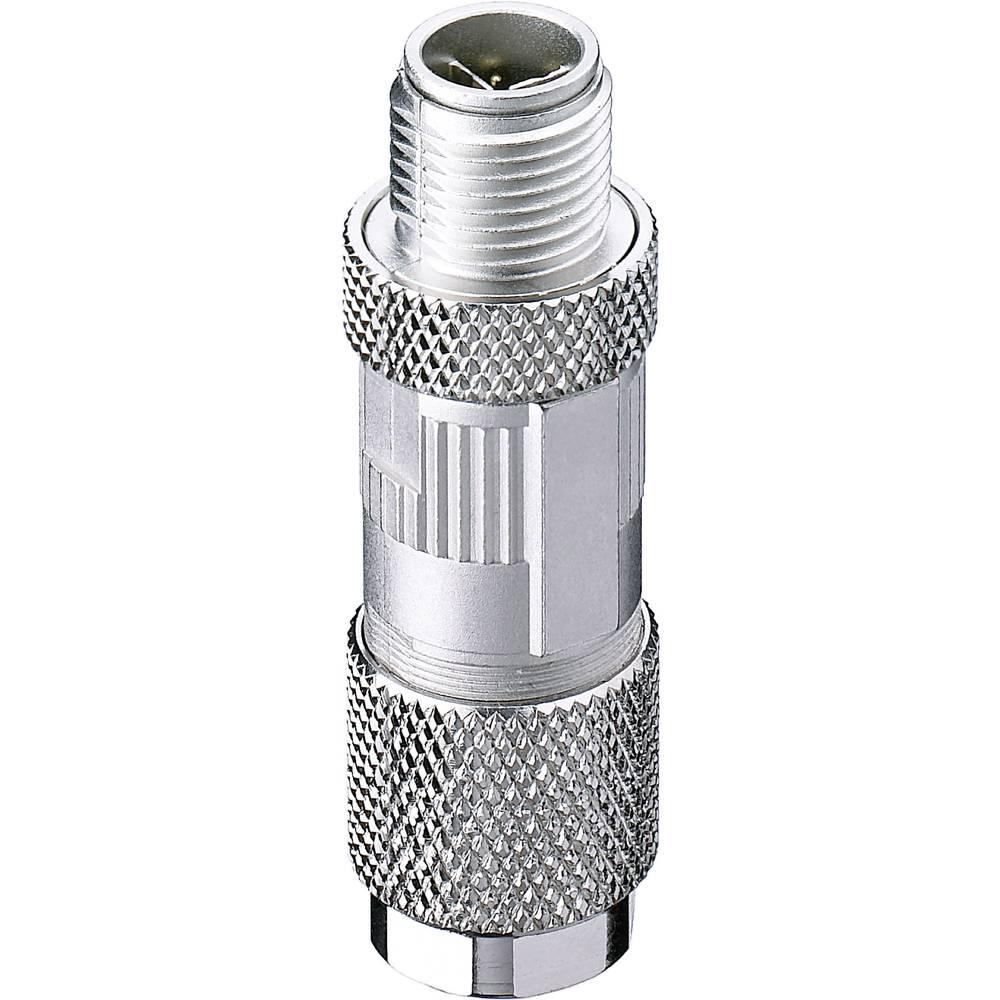 Montažni vtični konektor,, M12-vtič, vijačni priklop, zaščiten poli: 8 0986 EMC 600 Belden vsebuje: 1 kos