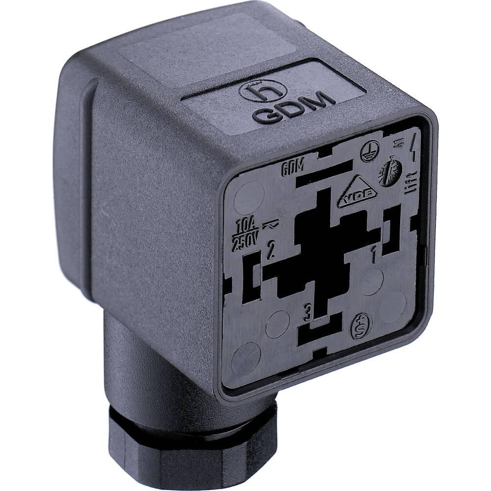Ventil plug GDM2106 Belden GDM2106 Sort 1 stk