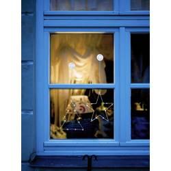 Okenska dekoracija z motivom zvezde, Polarlite, LED, LBA-50-016
