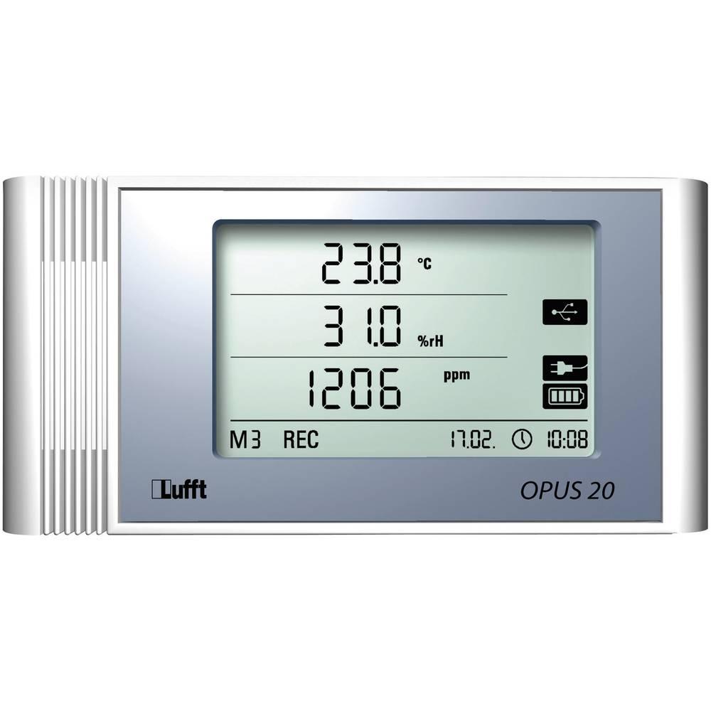 Kalib. ISO-Višenamjenski zapisivač podataka Lufft Opus20 TCO mjerno područje temperature, vlažnosti, CO2 -20 do 50 °C 10 do 95 %