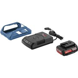 Bosch ProfessionalWireless Charging system, Verktygsbatterie, laddare 18 V/2 Ah + induktions-laddstation 1600A003NA