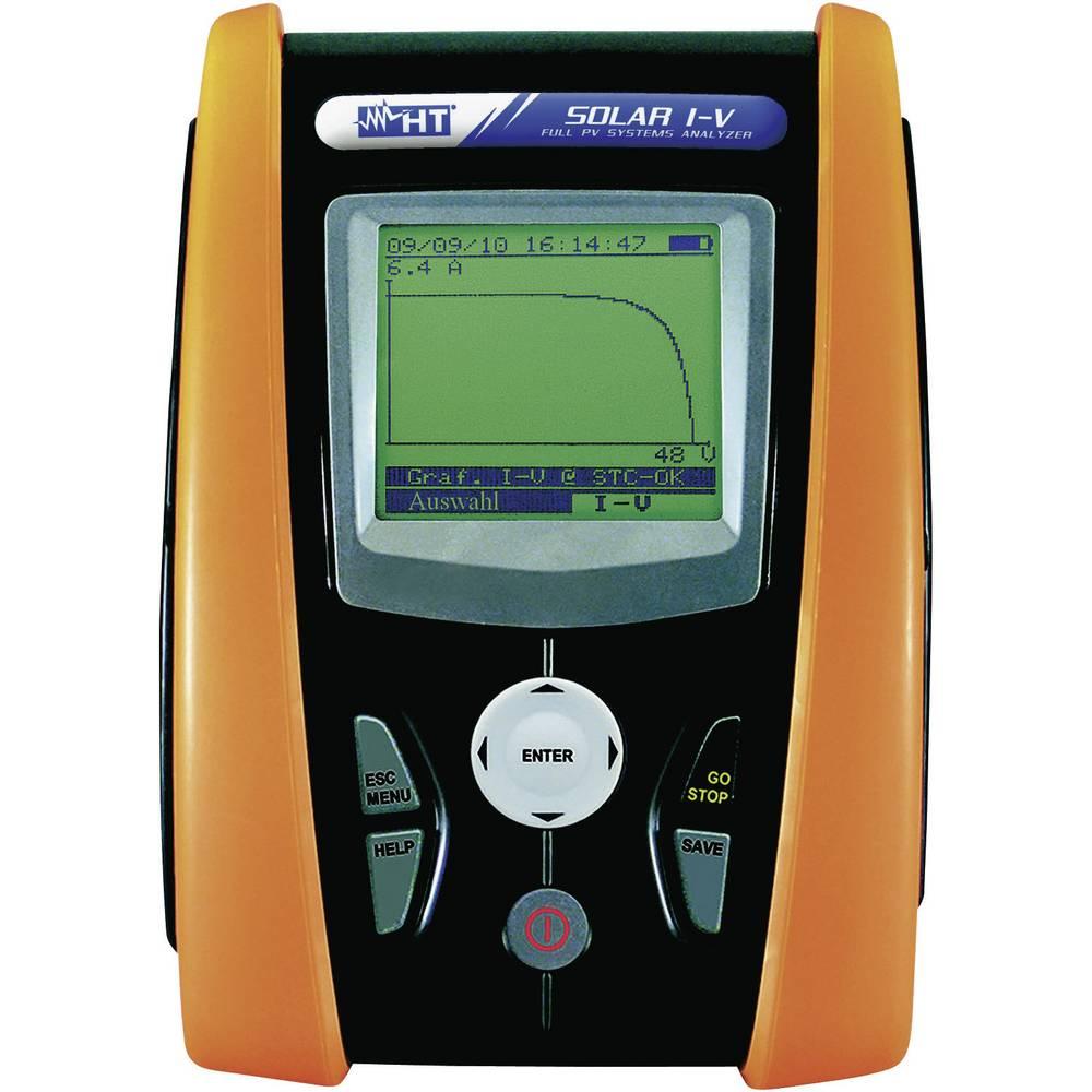 Foto-voltaični multimeter digitalni HT Instruments SOLAR I-V kalibracija narejena po: delovnih standardih, CAT II 1000 V, CAT II