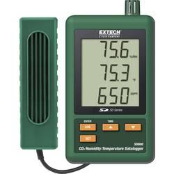 Extech SD800 Shranjevalnik podatkov o CO2/vlažnosti/temp., zapisovalnik meritev, 0.0 do 50.0 °C