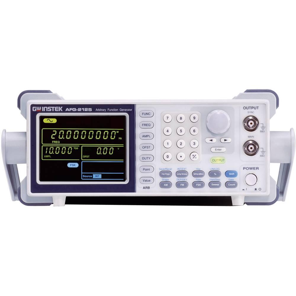 GW Instek AFG-2005 arbitrarni funkcijski generator, frekvenčno območje 0.1 Hz - 5 MHz, 1-kanalni,