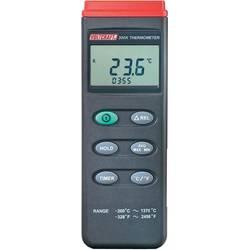 Mjerač temperature VOLTCRAFT K204 Datalogger -200 do +1370 °C senzor tipa K funkcija zapisivača podataka kalibriran prema: ISO