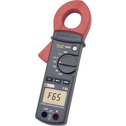 Tokovne klešče, digitalne Chauvin Arnoux F65 P01120761 kalibracija narejena po: delovnih standardih, CAT III 600 V število znako