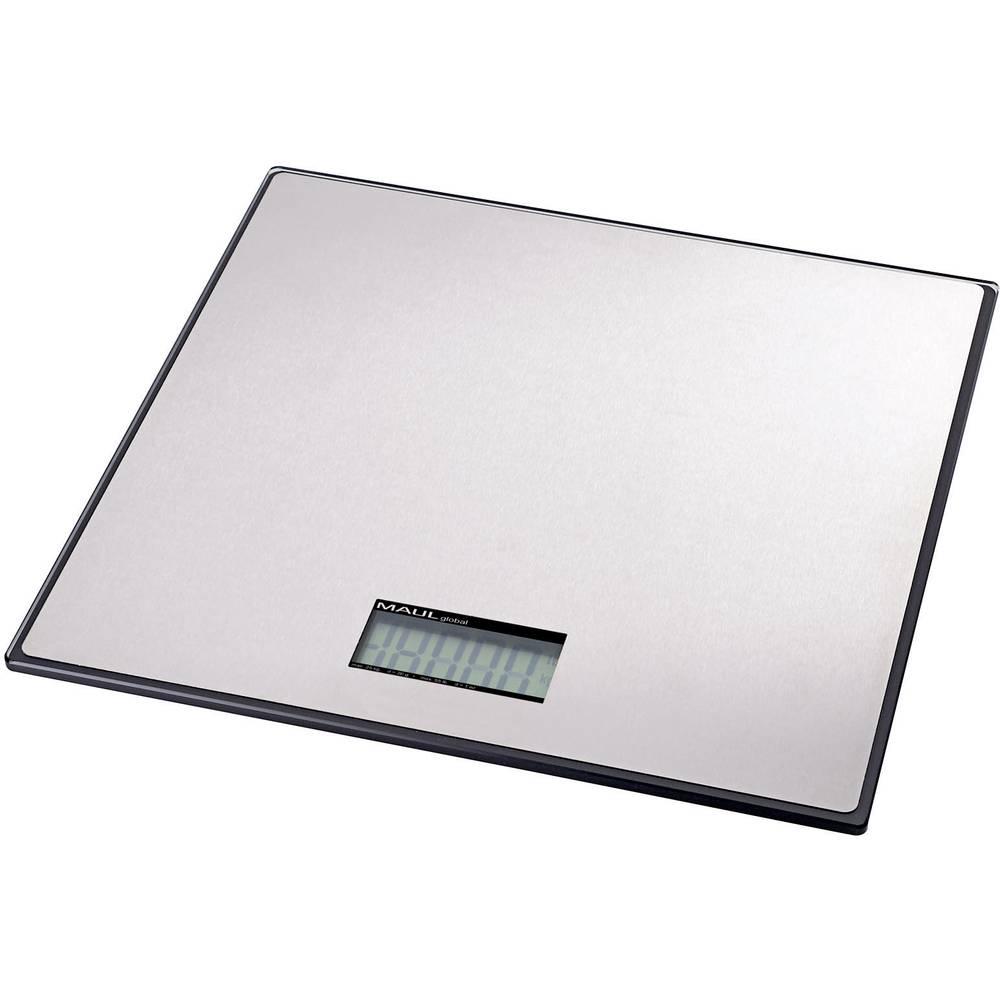 Vaga za pakete Maul vaga za pakete MAULglobal 100 KG opseg mjerenja (maks.) 100 kg mogućnost očitanja 100 g na baterije srebrna