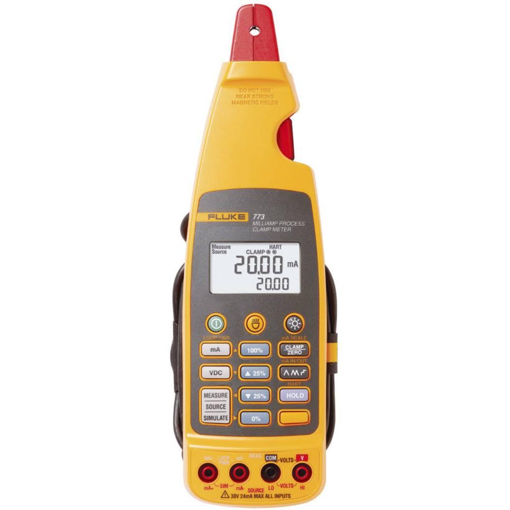 Tokovne klešče, ročni multimeter, digitalni Fluke 773 kalibracija narejena po: delovnih standardih, procesni izhodni tok CAT II