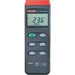 Mjerač temperature VOLTCRAFT K204 Datalogger -200 do +1370 °C senzor tipa K funkcija zapisivača podataka kalibriran prema: DAkkS