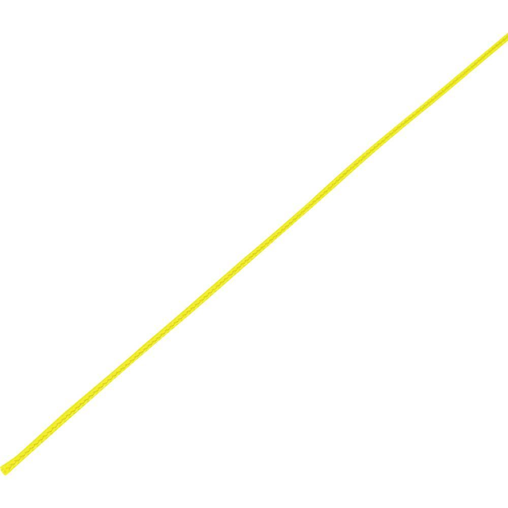Zaščitna cev, pletenica, snop-: 4 - 8 mm CBBOX0408-YL;Conrad Components vsebina: 10 m