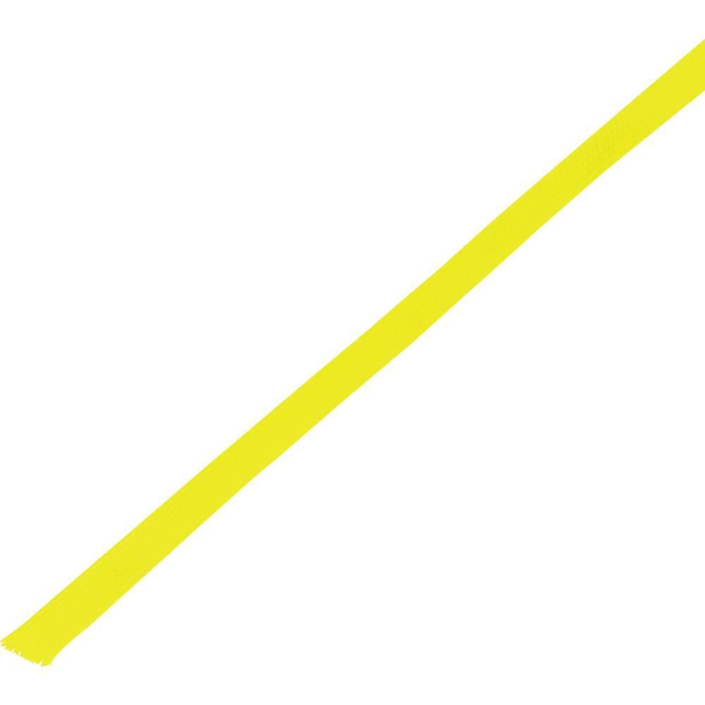 Zaštitno crijevo, pleteno, snop-: 5 - 10 mm CBBOX0510-YL;Conrad Components sadržaj: 10 m