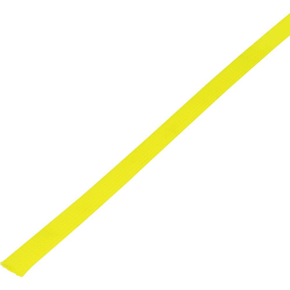 Zaštitno crijevo, pleteno, snop-: 15 - 27 mm CBBOX1527-YL;Conrad Components sadržaj: 10 m