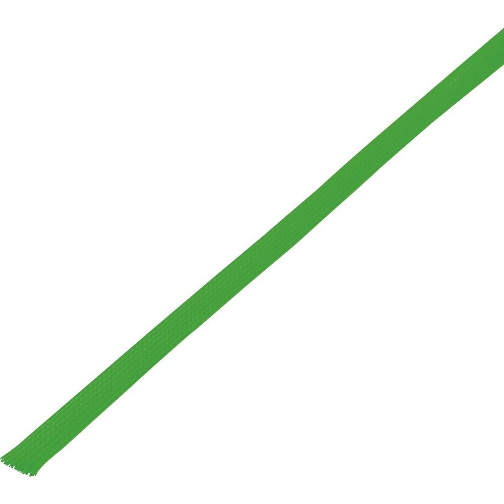 Zaštitno crijevo, pleteno, snop-: 8 - 14 mm CBBOX0814-GN;Conrad Components sadržaj: 10 m