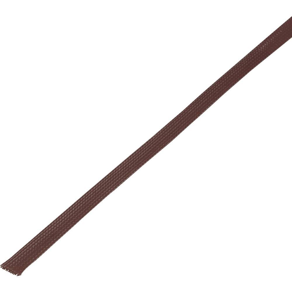Zaščitna cev, pletenica, snop-: 6 - 12 mm CBBOX0612-BN;Conrad Components vsebina: 10 m