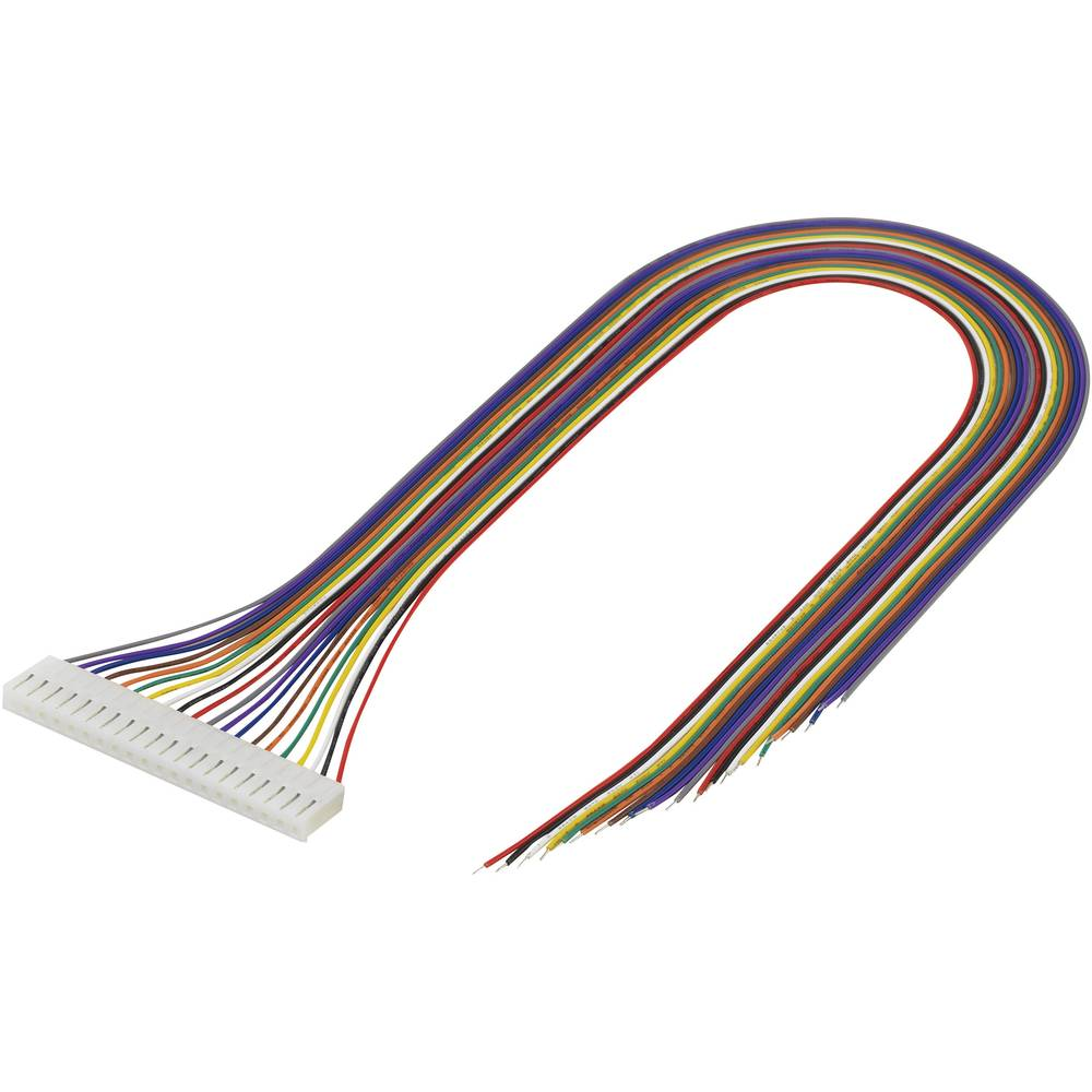 Konfektionerede kabler Samlet antal poler 20 TRU COMPONENTS 1244011 Rastermål: 3.96 mm 1 stk