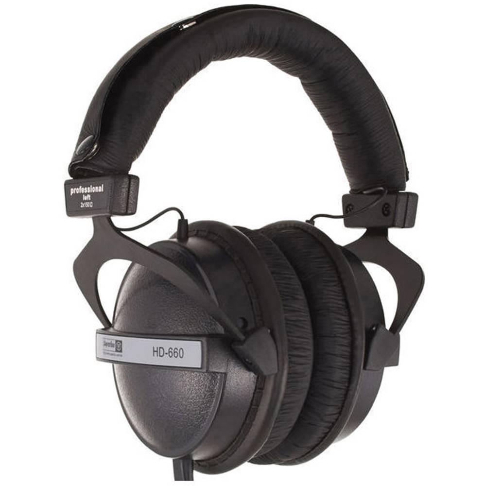 Studijske slušalke Superlux HD-660, črne barve