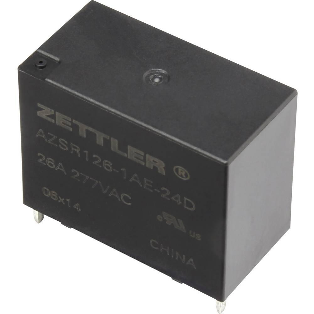 Printrelais (value.1292897) 24 V/DC 31 A 1 Schließer (value.1345270) Zettler Electronics AZSR126-1AE-24D 1 stk