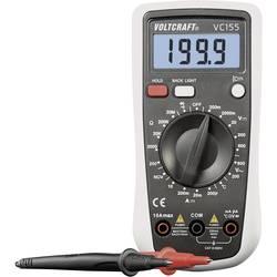 Ročni multimeter, digitalni VOLTCRAFT VC155 kalibracija narejena po: delovnih standardih, CAT III 600 V število znakov na zaslon