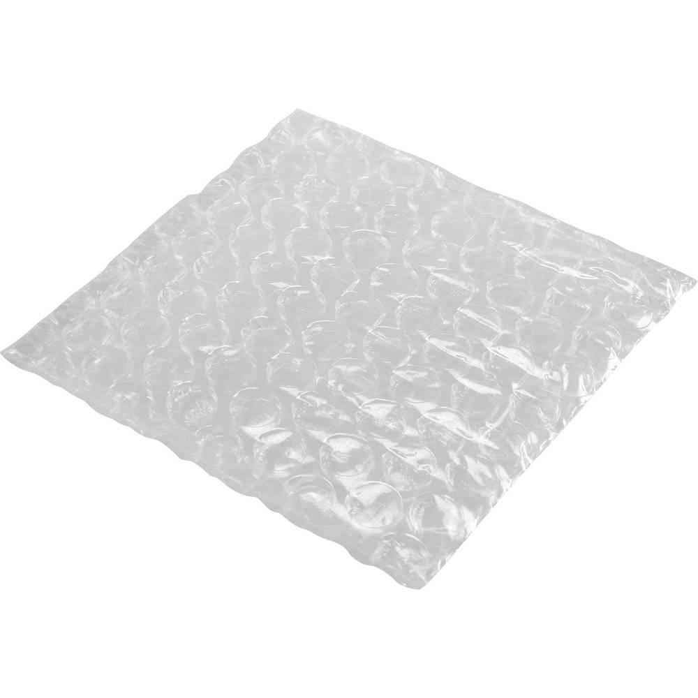 Vrečka z zračnimi mehurčki (Š x V) 120 mm x 120 mm prozorna, polietilen
