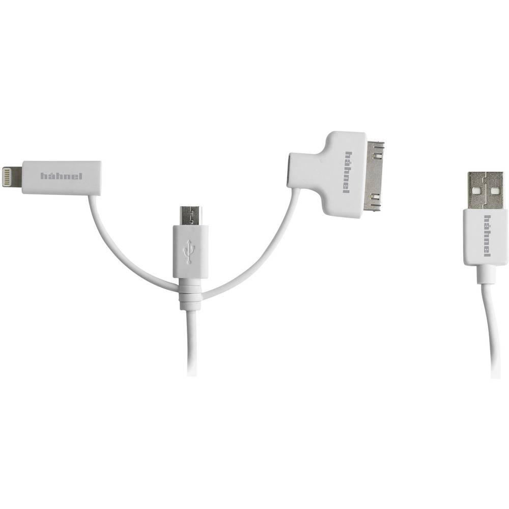 Hähnel Fototechnik USB / Micro-USB / Lightning / 30-Pin 10006510 polnilni kabel