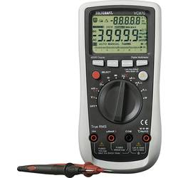 VOLTCRAFT VC870 Handmultimeter digital Kalibrerad enligt: ISO CAT III 1000 V, CAT IV 600 V Display (Beräkningar): 40000