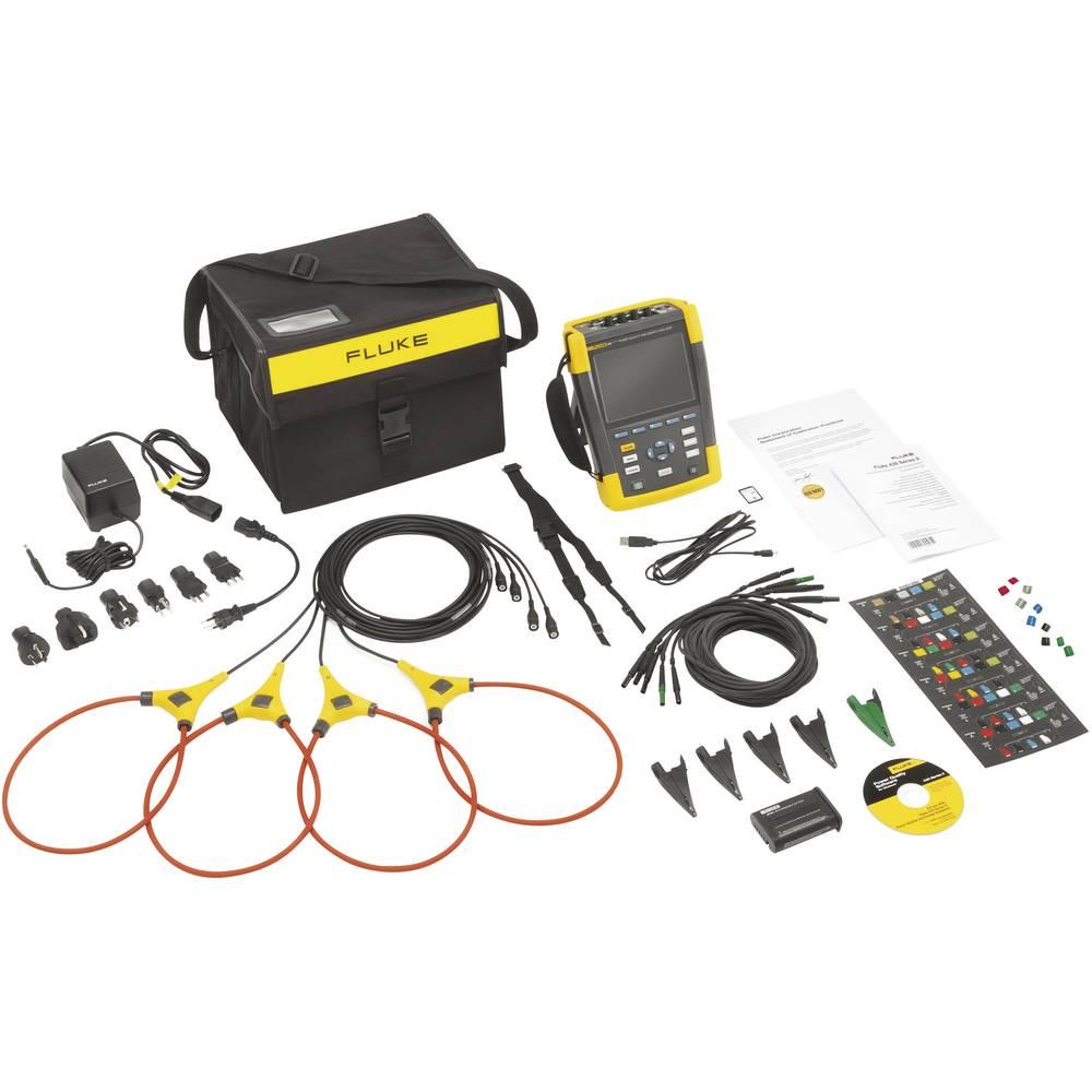 Kal. ISO Fluke 434-II omrežni analizator 4116638 CAT IV 600 V/CAT III 1000 V - ISO kalibracija