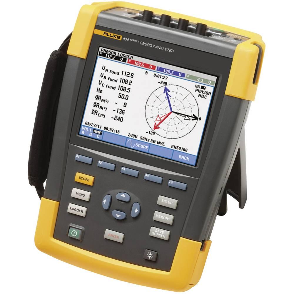 Kal. ISO Fluke 434-II/BASIC omrežni analizator 4116650 CAT IV 600 V/CAT III 1000 V - ISO kalibracija