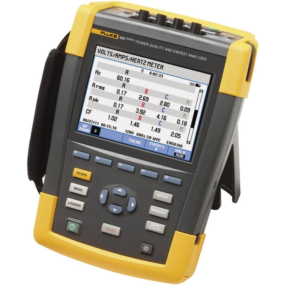 Kal. ISO Fluke 435-II/BASIC omrežni analizator 4116689 CAT IV 600 V/CAT III 1000 V - ISO kalibracija