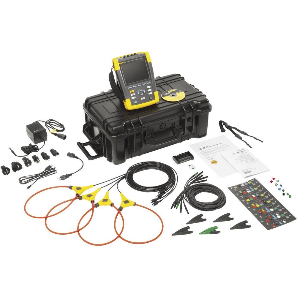 Kal. ISO Fluke 437-II omrežni analizator 4116692 CAT IV 600 V/CAT III 1000 V - ISO kalibracija
